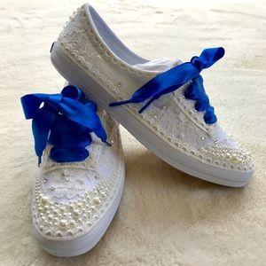 Keds Pearl & Lace Custom Shoes